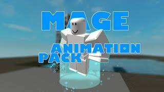ROBLOX Mage animation package