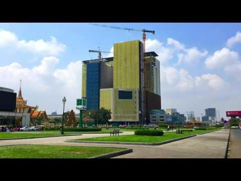 Phnom Penh Cambodia 2017 - Koh Pich Diamond Island | How to Travel Cambodia and Visit Cambodia 2017