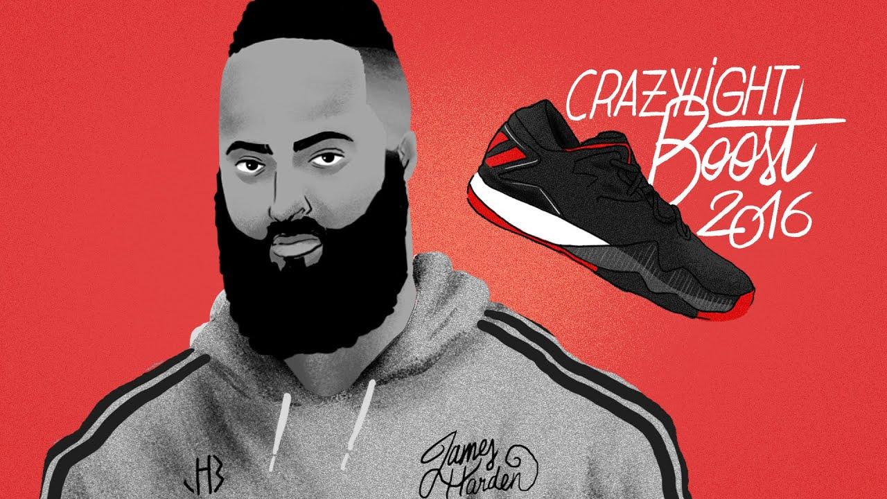 adidas crazylight impulso 2016 james harden pe su youtube