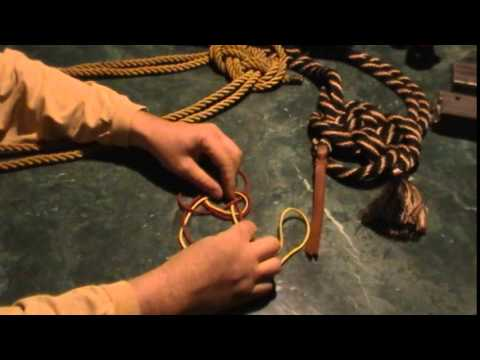 The Legendary Alamar Knot - Tying A Horse Alamar Knot - The Old Savvy String
