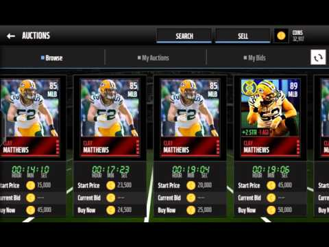QUICSELLS!!!+PRO PACKS| Madden Mobile