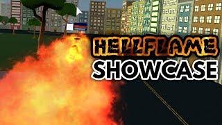HELLFLAME SHOWCASE! | Boku No Hero: Remastered | ROBLOX