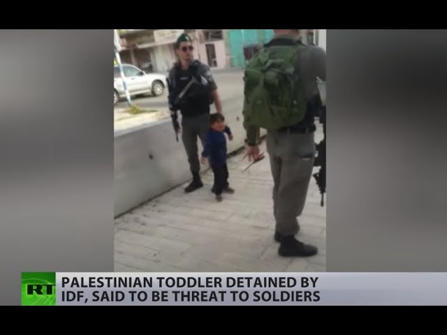 Palestinian toddler detained by IDF for allegedly throwing stones