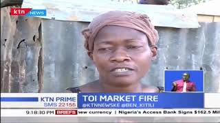Kibera\'s Toi Market goes up in flames