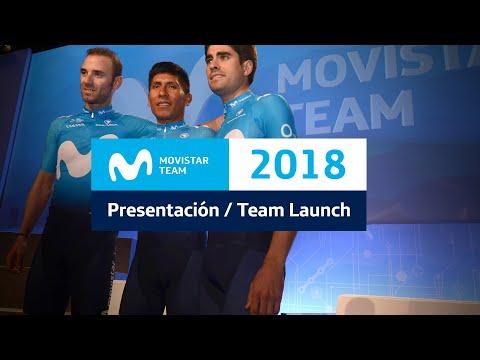 #MovistarTeam2018: Presentación Oficial