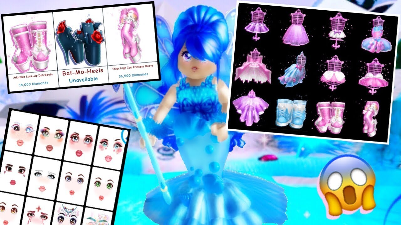 ROYALE HIGH DECOR UPDATE! NEW ICONS, CLOTHES AND MORE ... - photo#7