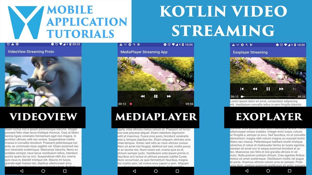 Kotlin Video Streaming Introduction