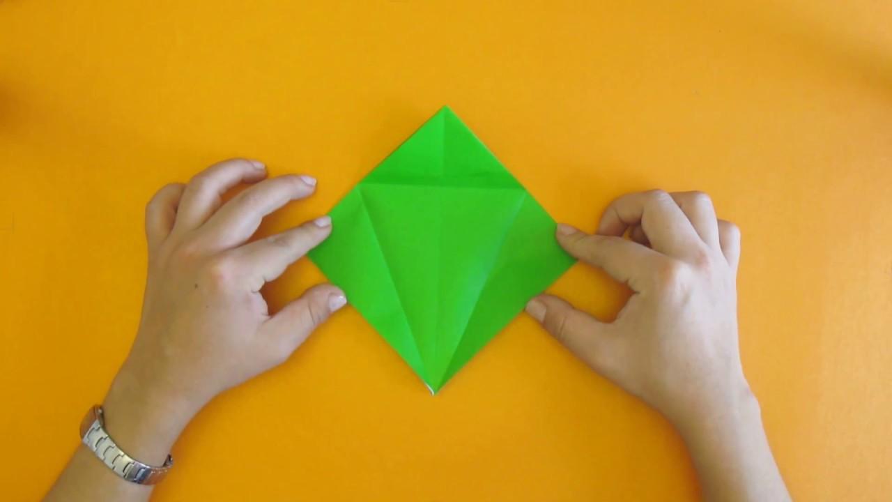 Papercraft Como hacer una Grulla de Origami - Tutorial