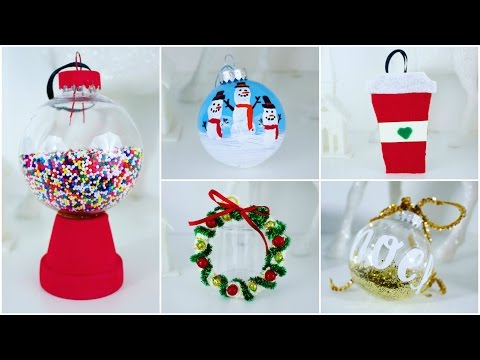 Thumbnail: 5 CHEAP AND EASY DIY CHRISTMAS ORNAMENTS | PINTEREST INSPIRED