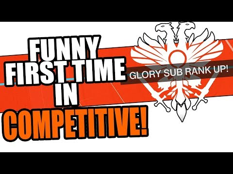 FIRST TIME GOING IN COMP! | Funny Destiny 2 Black Armory Competitive Gameplay thumbnail