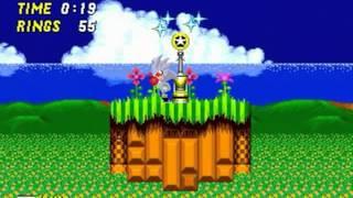 Silver in Sonic the Hedgehog 2 (Genesis) - Longplay