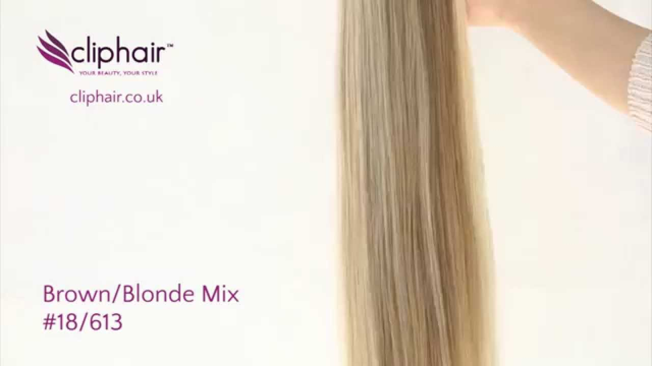 Colour 18613 Brownblonde Mix Hair Extensions By Cliphair