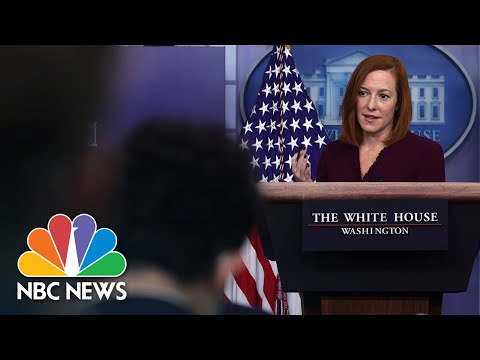 White House Holds Press Briefing: September 27  NBC News