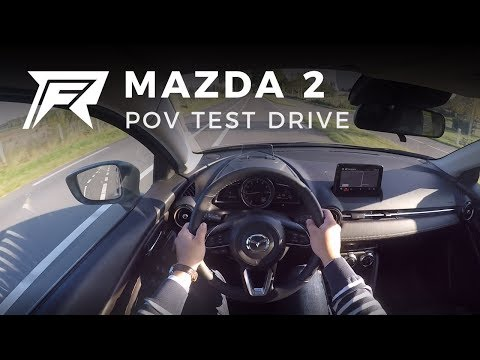 2017 Mazda 2 SkyActiv-G 90 - POV Test Drive (no talking, pure driving)