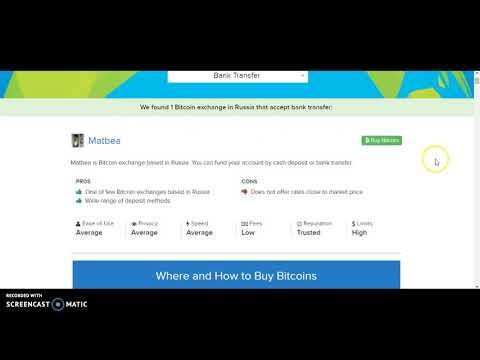 How To Buy Bitcoin In Russia?