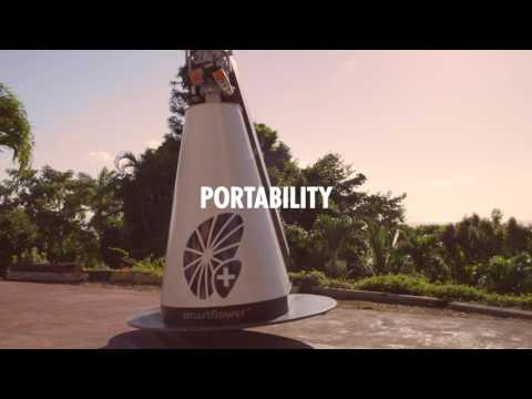 SmartFlower - The World's First All-In-One Solar System