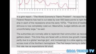 HSBC fears world recession with no lifeboats left