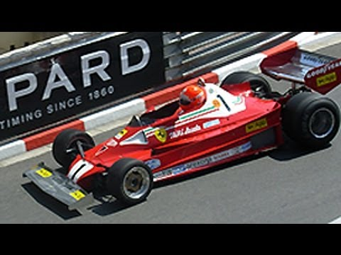 Rush at Monaco - Niki Lauda & James Hunt Race Cars at Monaco Historic GP