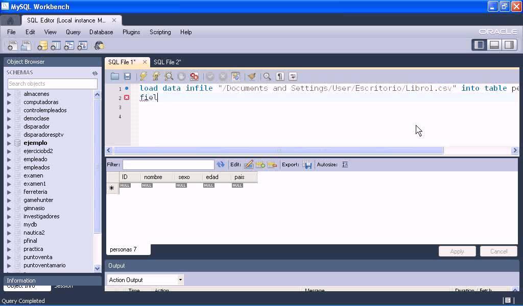 Pasar Datos de Excel a MySQL - YouTube