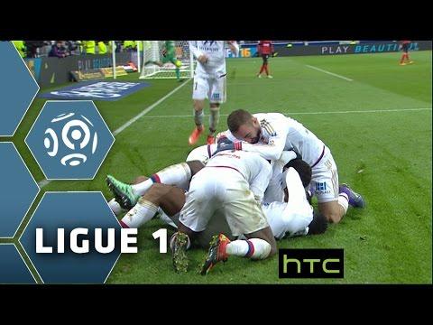 Olympique Lyonnais - EA Guingamp (5-1)  - Résumé - (OL - EAG) / 2015-16