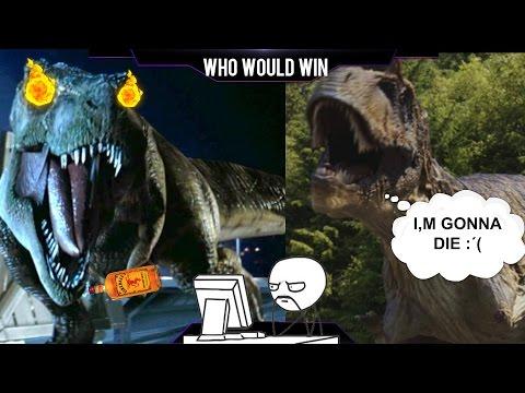 Albertosaurus Vs T-Rex [REQUESTED]   Warpath: Jurassic Park PS1 (DINOSAUR GAME)   Carlos1416