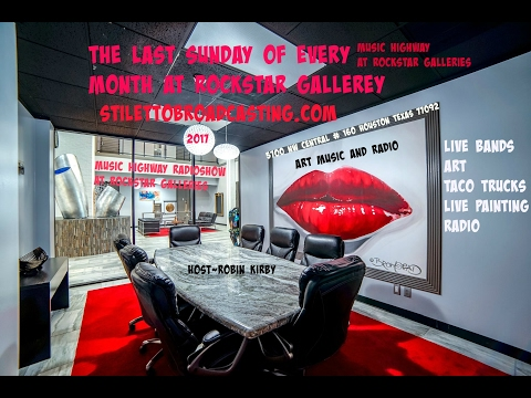 Music Highway at Rockstar Gallery Episode 1  Andrew Bateman Interview