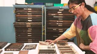 Bangalore: The Bronze and Copper era of a Type Foundry