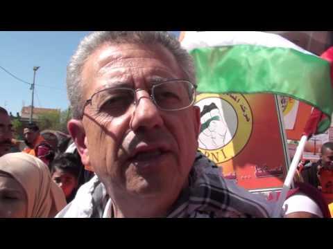 Mustafa Barghouti interview English Ramallah