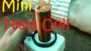 How To Make A Mini 3V Tesla Coil Step By Step
