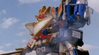 Power Rangers Lost Galaxy - Megazords vs Chameliac (Best of the Best Song)