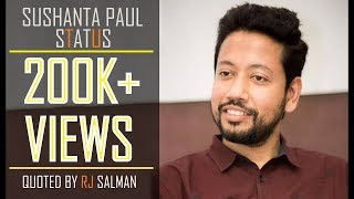 Sushanta Paul Status Read by RJ Salman