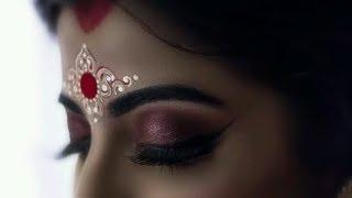 Bindi design for Bengali Bridal makeup | Alpona | Kum Kum Art💟💟💟