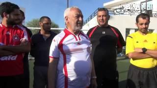 الشيخ راشد الغنوشي  اليوم الجمعة  في مباراة رياضية