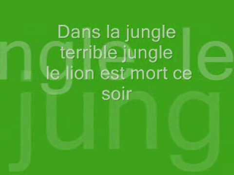 Le lion est mort ce soir-lyrics.wmv