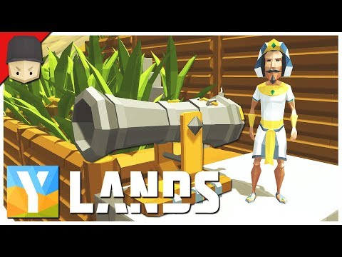 YLANDS - Cannons, Foundry & Gunpowder! : Ep.15 (Survival/Crafting/Exploration/Sandbox Game)