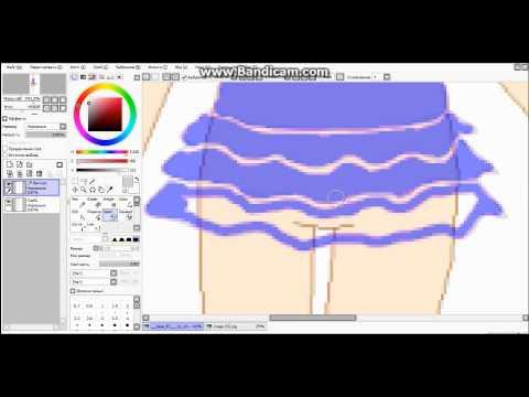 Рисуем аватара в PaintTool SAI