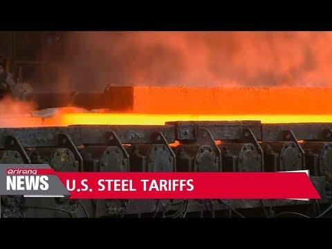 President Trump says imposing tariffs on steel would create more American jobs