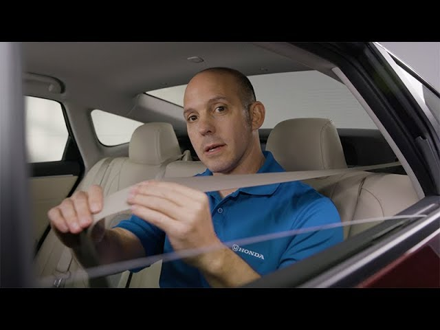 2018 Honda Clarity Plug-In Hybrid Tips & Tricks: How to Use the Seat Belt Ratchet