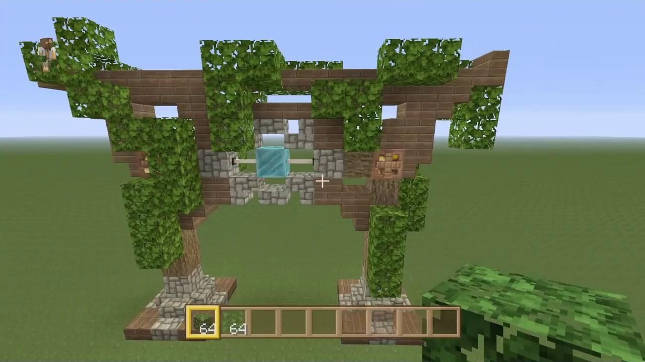 Beliebt Minecraft: Wie man einen mittelalterlichen Torbogen baut ZA86