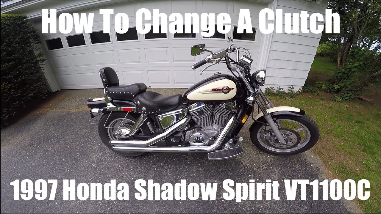 small resolution of diy clutch replacement 1997 honda shadow spirit vt1100c