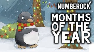Months of the Year Song for Kids by NUMBEROCK | English