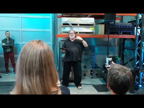 Gabe Newell drops a Half-Life 3 joke into his Valve Index launch party speech | PC Gamer