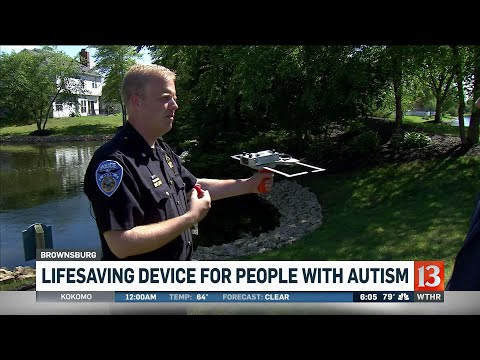 Lifesaving device for people with autism