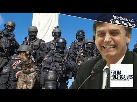 Jair Bolsonaro é recebido pelo BOPE e apresenta planos para combater a violência no Brasil thumbnail