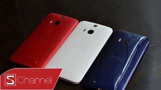 Schannel - Tren tay HTC Butterfly II - C?u hinh nhu One M8, them kh? nang ch?ng nu?c