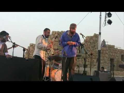 אביתר בנאי מתיסיהו ודניאל זמיר evyatar banai + matisyahu  הופעה במצדה HQ