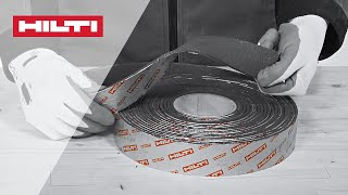 HOW TO Install Hilti CP 648-E And CP 648-ER Firestop Wrap - UL