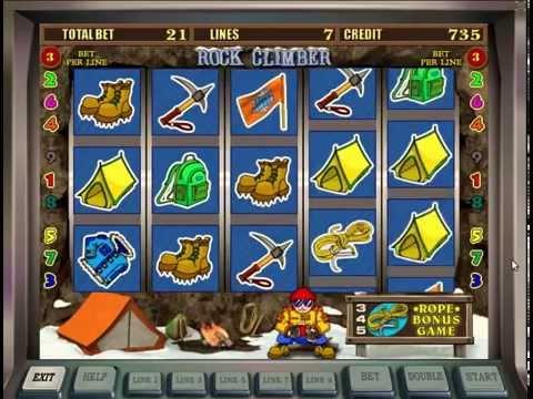 Игровой автомат Rock Climber (Скалолаз) + пройденная бонусная игра