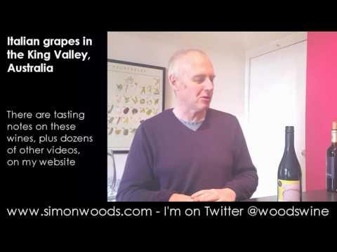 Wine Tasting with Simon Woods: Australian Italians or Italian Australians?