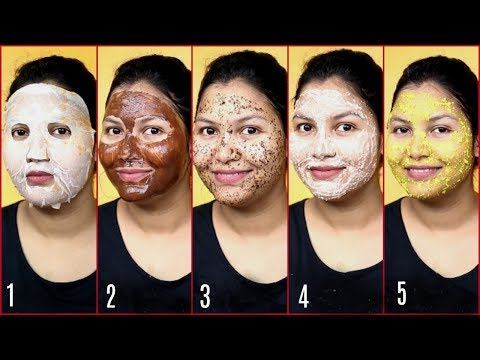 Winter  Dry Skin Treatment (In hindi)/5 best face mask for dull dry skin / indiangirlchanneltrisha